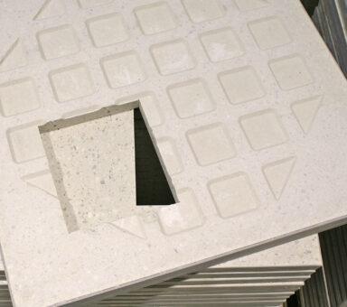 corte cerámica